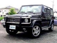 メルセデスベンツG500Lブラック超ワイドフェンダー公認G55仕様デモカー